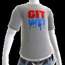 Git Wet Tee- Grey