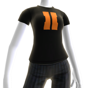 "COD: Black Ops II ""II"" Shirt Black - Female"
