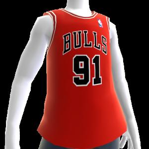 Bulls 95-96 Retro NBA 2K14 Jersey