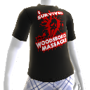 Tshirt &quot;I survived the Woodsboro Massacre&quot;
