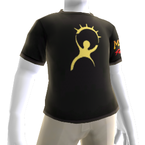 Goldenes T-Shirt
