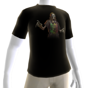 Reggae Zombie Avatar Shirt 1