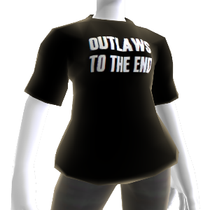"""Outlaws To The End"" T-Shirt"