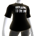 "Camiseta ""Outlaws To The End"""