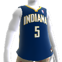Maglia Indiana Pacers NBA2K10