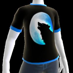 Blue Wolf Howl Shirt BT