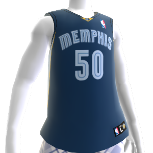 Memphis Grizzlies NBA2K12 Jersey