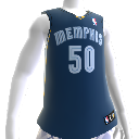 Memphis Grizzlies NBA2K12-Trikot