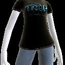 트론 로고 티셔츠