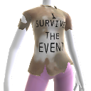 "T-shirt ""I Survived the Event"""