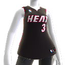 Maillot NBA2K10 Miami Heat
