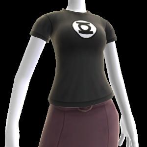 T-Shirt Emblema Lanterna Verde