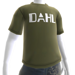 Camiseta con logotipo de Dahl