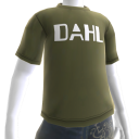 Shirt met Dahl-logo