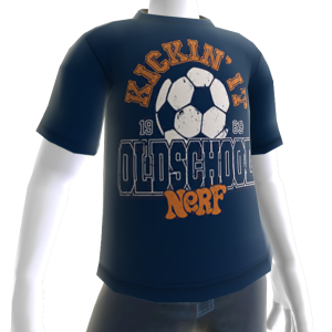 Nerf Old School Tee Blue