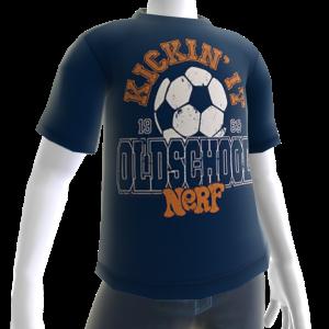 Nerf Old School Tee Blue