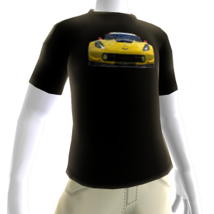 2016 C7.R Edition Corvette Black Tee 1