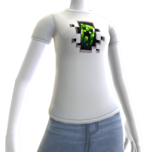 "Minecraft Creeper Inside"" T-Shirt"