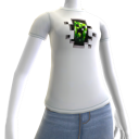 "Minecraft-T-shirt met opdruk ""Creeper Inside"""