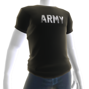 Army Tee - Black