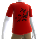 "Hitman: Absolution T-shirt ""Orginal Assassin"" rossa"
