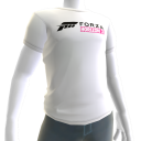 Male White Forza Horizon 3 Shirt