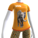 Zoo Tycoon – tričko so slonom