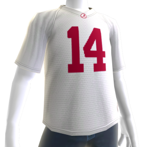 Alabama White Football Jersey