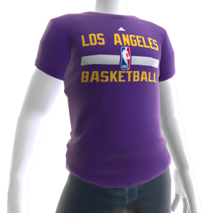 Lakers On-Court Tee