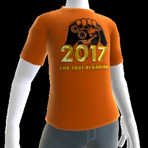 2017 Year of Gaming Orange Tee