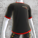 Risen 2 Camisa negra pirata 