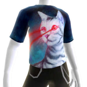 Epic Laser Space Cat Shirt