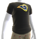 Rams Gold Trim Tee