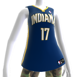 Indiana Pacers NBA2K12-Trikot