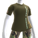 T-shirt di Modern Warfare 2 con logo verticale
