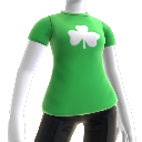 Green Shamrock Tee