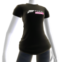 Female Black Forza Horizon 3 Shirt