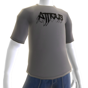 Atticus Metalhead Grey t-shirt 