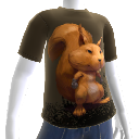Eichhrnchen-T-Shirt 