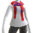 Chile White Tank Top & Scarf