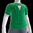 Camiseta de traje verde