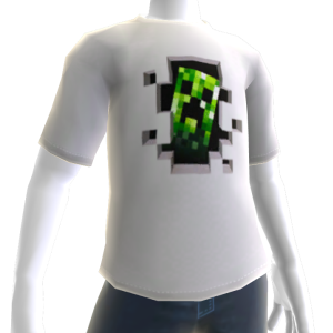 Minecraft Creeper Inside -t-paita