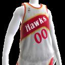 1986-1987 Hawks Jersey