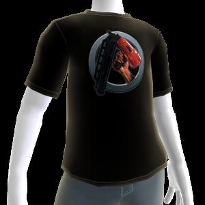 T-shirt con logo sparachiodi
