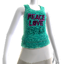 Zumba Peace Bubble Tank