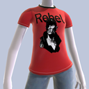 T-shirt Rebel  -The Witcher 2