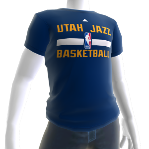 Jazz On-Court Tee