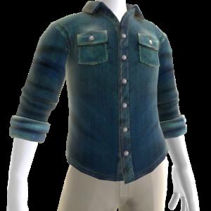 Button Shirt - Blue