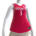 Maillot NBA2K10 Houston Rockets