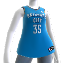 Oklahoma City Thunder NBA2K10 Jersey